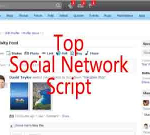 top social network script