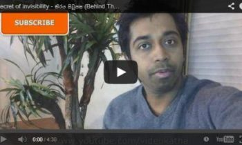 [Video] තිරය පිටුපස – Video Katha