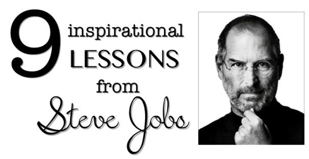 Steve Jobs ගෙන් ඉගන ගන්න පුළුවන් පාඩම් 9ක් – Infographic