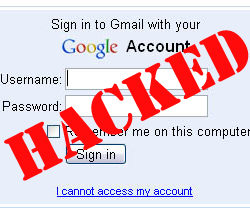 gmail password hack