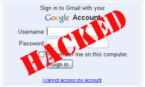 gmail password hack