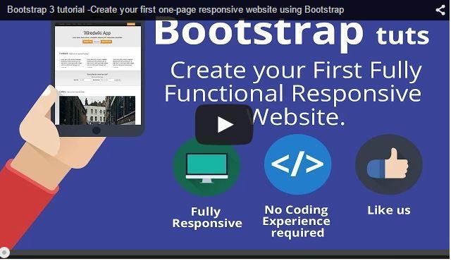 Web Design පහසුවෙන් ඉක්මනට කරන්න Bootstrap Framework එක භාවිතා කරන්නේ කොහමද?