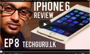 iPhone6 Sinhala Review