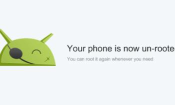 ඔබගේ Android Phone එක හෝ Tab එක Unroot කරන්නේ කොහමද?
