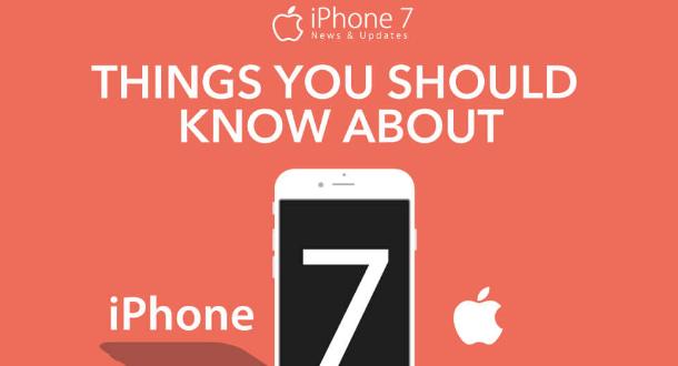 [Infographic] Apple iPhone 7 ගැන විස්තර සහ අලුත් දේවල්