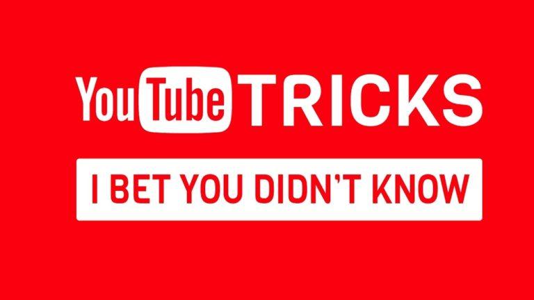 YouTube ගැන Tips & Tricks 9 ක්